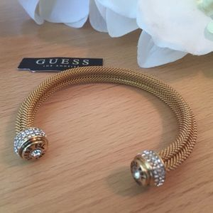 New Guess Bracelet Gold, Rhinestone 🌸
